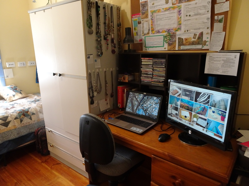 Woman using laptop  - Ideas For Setting Up A Home Office