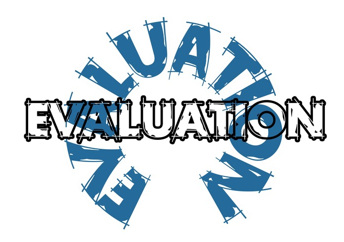 evaluation sign
