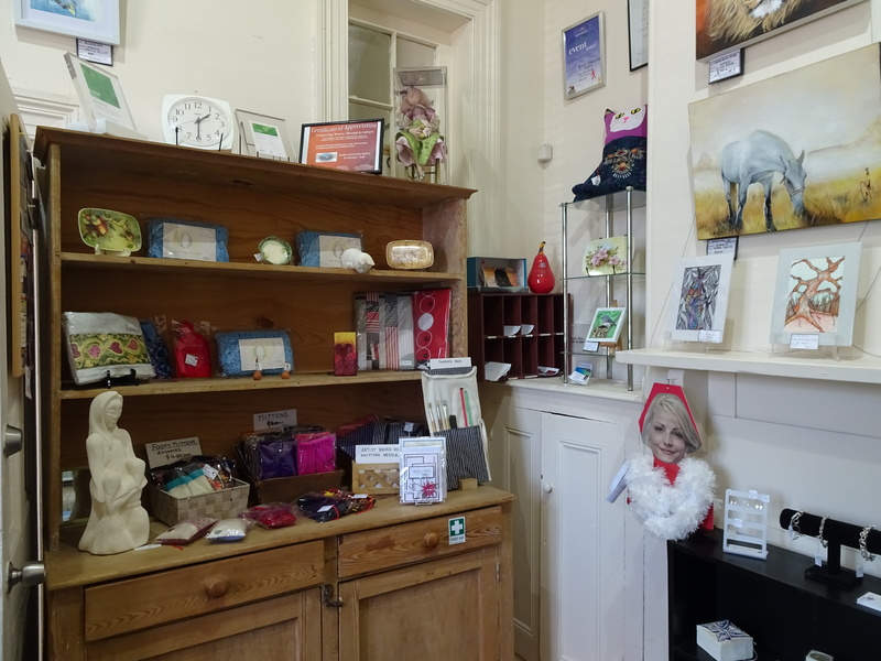 Gift shop  - Selling Your Art/Craft Through A Community Gallery